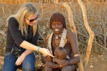 Etiyopya / Güney Etiyopya'da 2500 km… OMO Vadisi ve Kabileler…