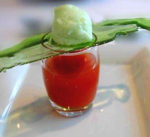 Nefis bir Fransız restoran geleneği: AMUSE-BOUCHE