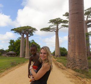 MADAGASCAR (1) Morondava-Baobab Alley
